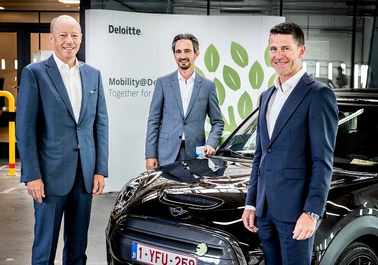 KBC Autolease et Deloitte avons opté pour un modèle 100% électrique.