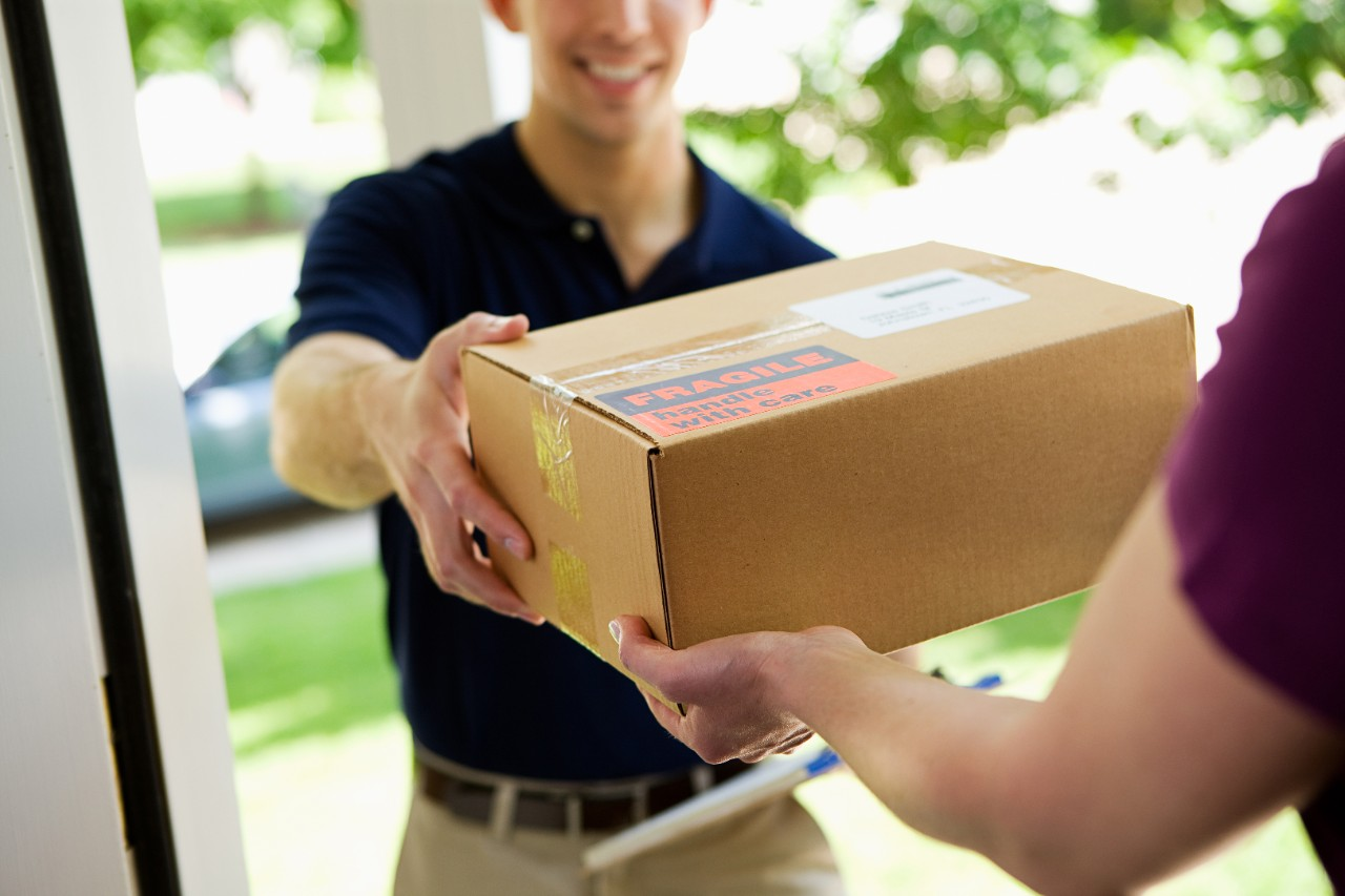 levering pakket aan huis