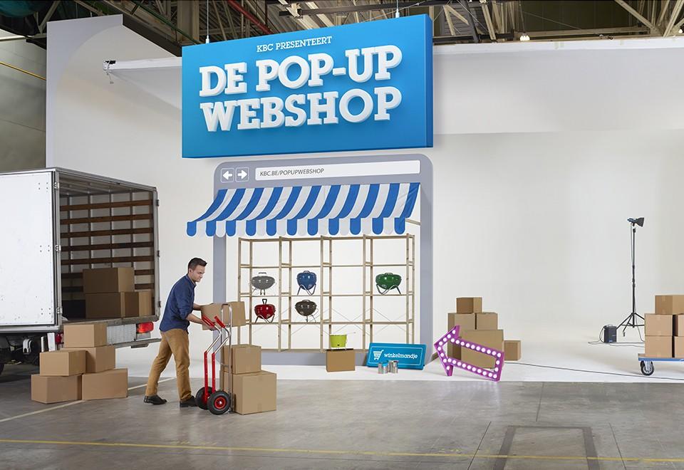 Pop-up webshop