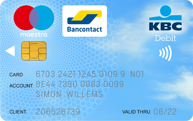 Bankkaart contactloos betalen