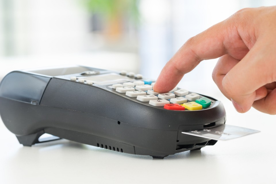 Betalen met kredietkaart