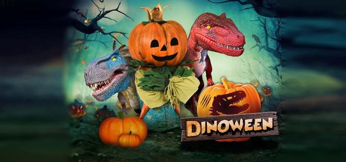 Dinoween in Plopsa Coo