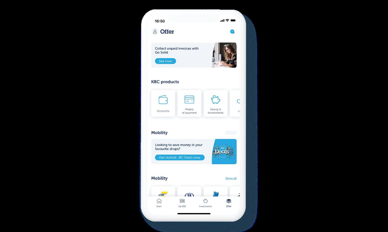 Offer KBC Mobile