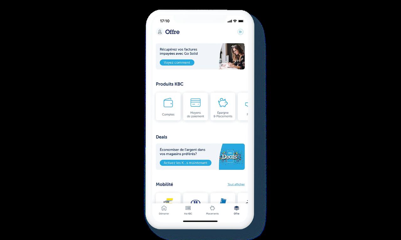 Offre KBC Mobile