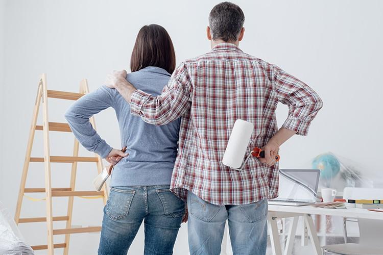 Dégâts de construction - dommages à l'habitation