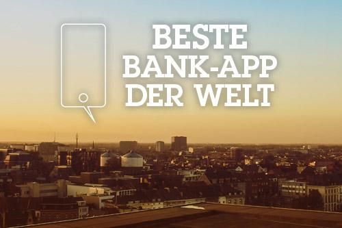 Beste Bank-App der Welt